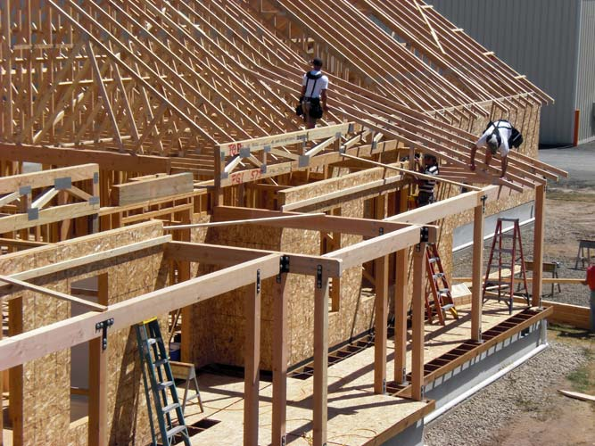 quality framing ulrich brothers construction home builders